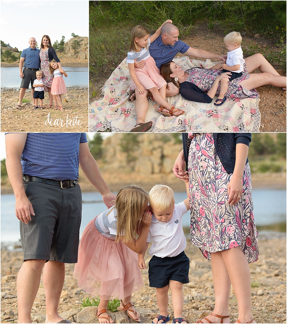 mary's lake estes park colorado family photographer