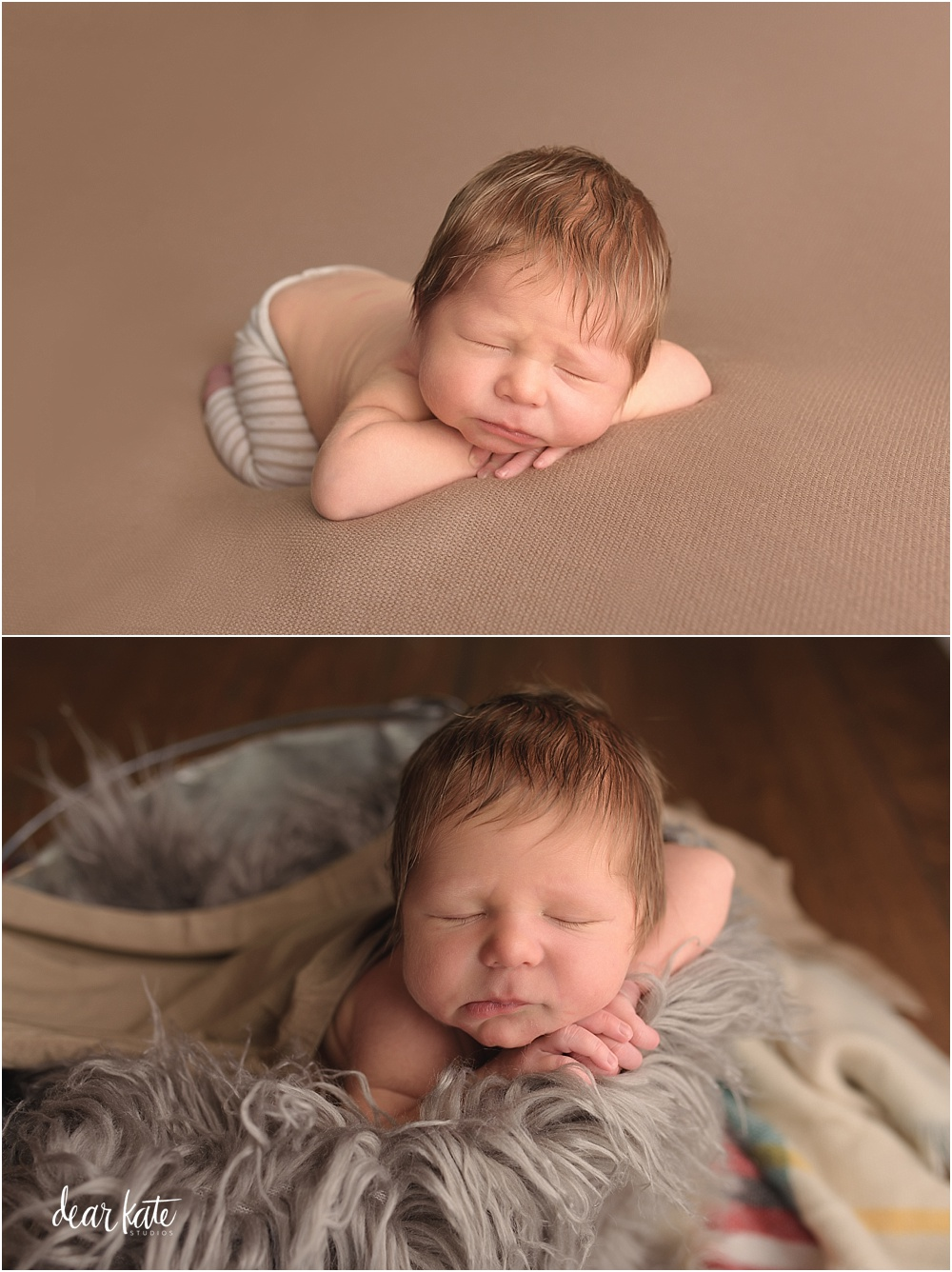 newborn baby boy windsor colorado studio photographer