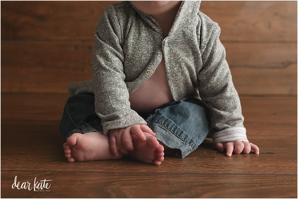details of baby's first year, baby feet loveland colorado studio