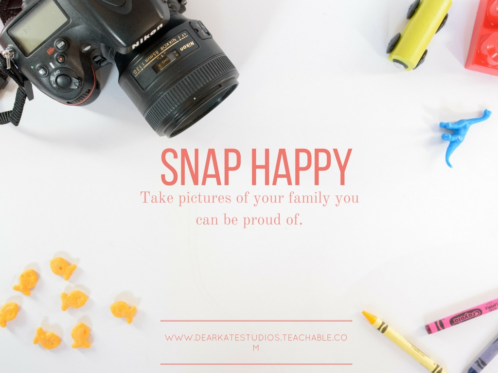 Snap Happy- An Online Beginner DSLR Course