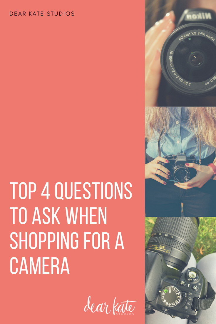 how to buy a camera what questions to ask.