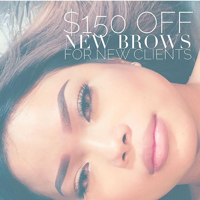 Get your perfect brows today! Book today and tomorrow 9/12 + 9/13 for last few dates in 2018! ✨Receive $150 OFF new brows with Lisa Le. ✨ Now booking for November 2018. .  Text 714 280 2159  Email hello@browtheorystudio.com . 🎉Mention an existing client who referred you and they will receive 10% off their next touch up! . *Previous work must send a photo prior to booking *Must not be pregnant or nursing