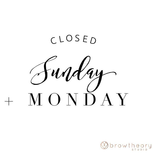 Hope everyone had a great weekend! Our phone lines are open Tuesday - Saturday 9:30am to 4:30 pm 🤗😬 If you happen to catch us during our off hours, we'll make sure to get back to you first thing Tuesday morning! Have a great #MONDAY babes!
