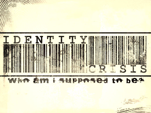 Identity Crisis Bar code - Who am I supposed to be?