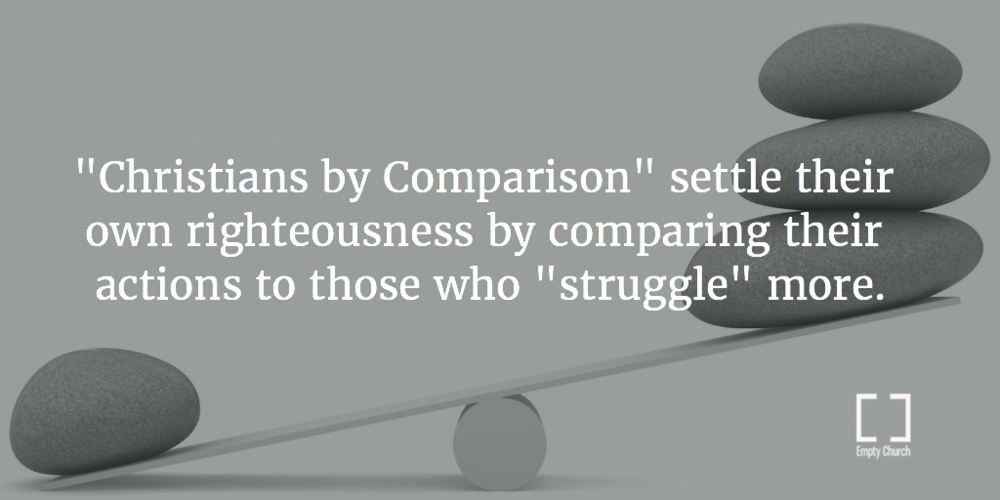 "Comparing your life to those you think ""struggle"" more show little self-awareness"