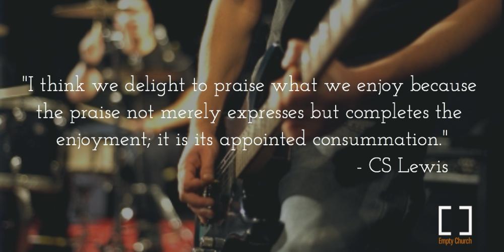 church music should proclaim our Joy in God