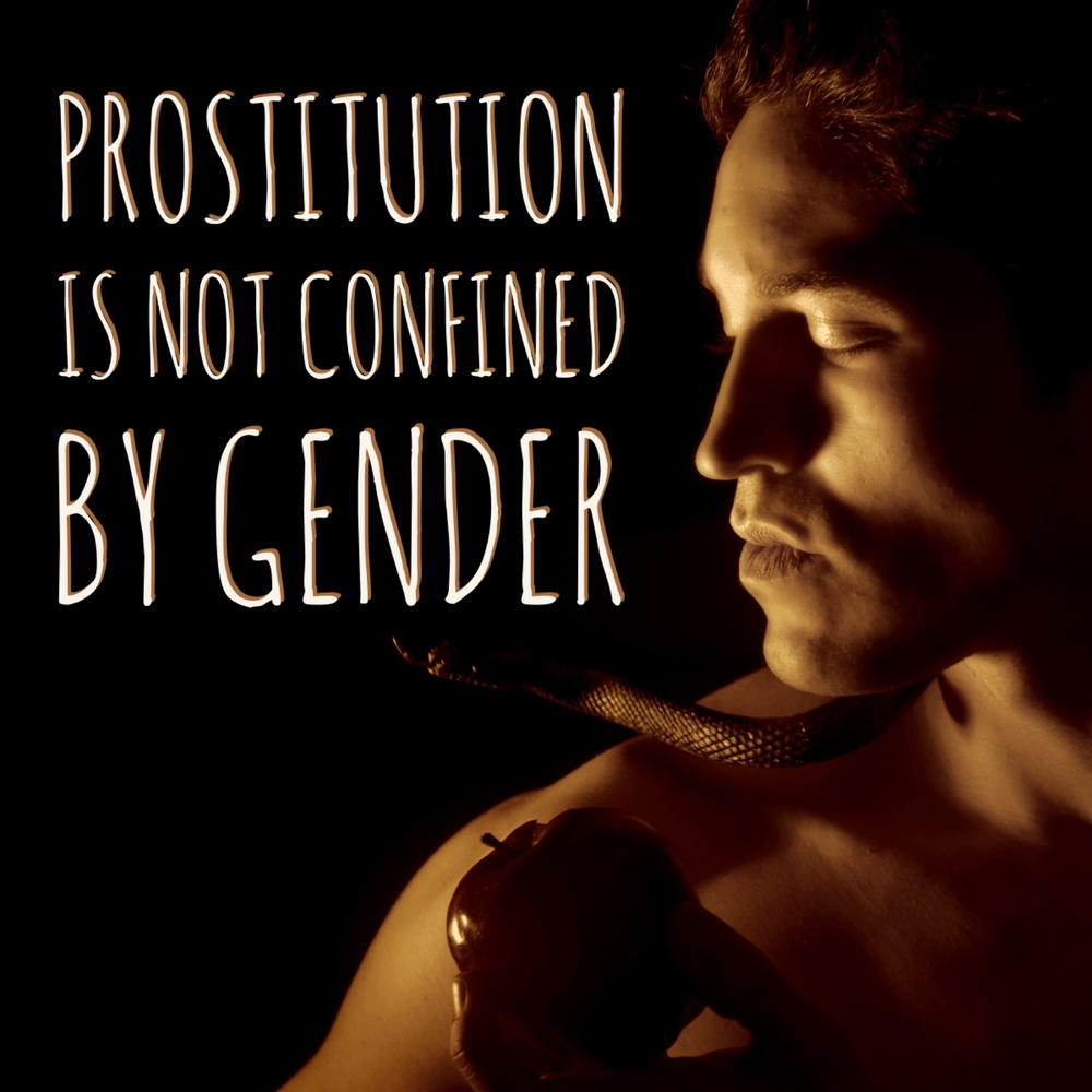 never assume that the Bible only talks about women being prostitutes. We are all whores regardless of gender.