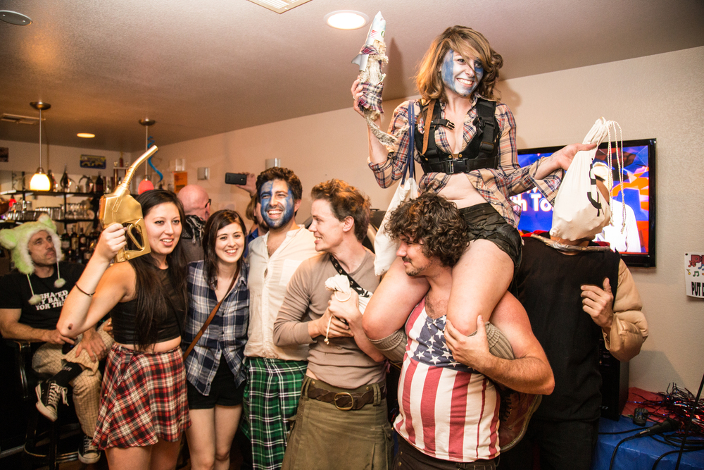 Plaid Max: A Tale of Two Gibsons, winners of 2015 LA to Death Valley