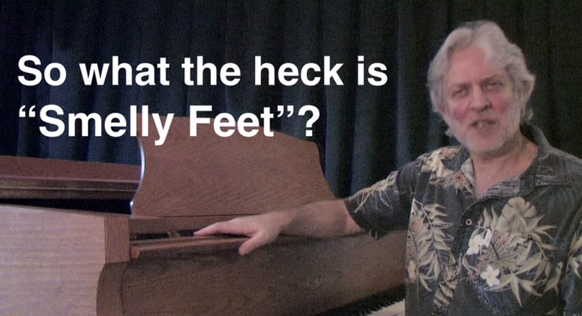 SO WHAT THE HECK IS SMELLY FEET?    CLICK HERE to view the interview with the writer/composer, Dean Friedman.