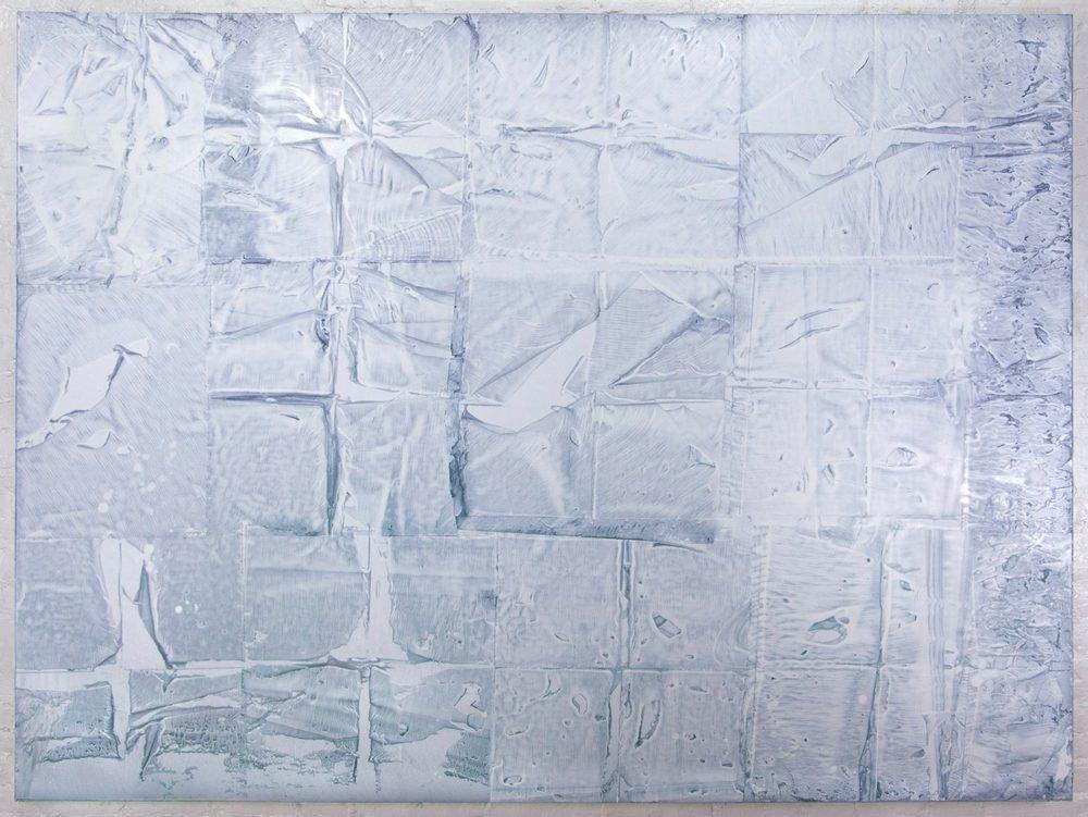 """Sean Robert FitzGerald  Marsden Hartley Paints Mount Katahdin , 2014 Oil on canvas 72"""" x 96"""""""
