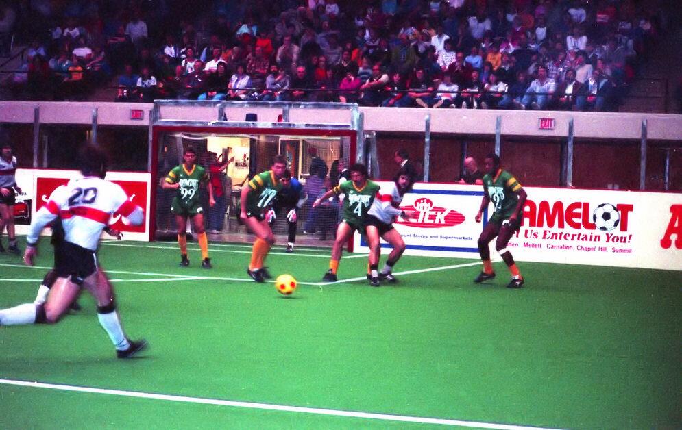 1986-87 Rowdies vs Canton Invaders AISA 31.jpg