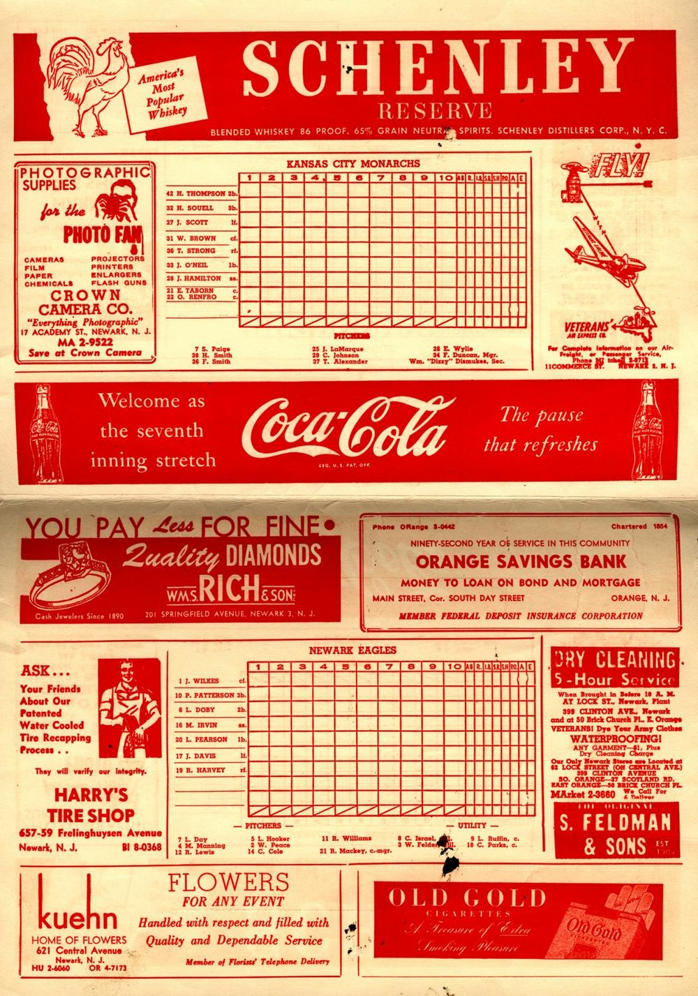 Negro Leagues 1946 World Series Program inside 49.2008.4 NBL_hogan.jpg