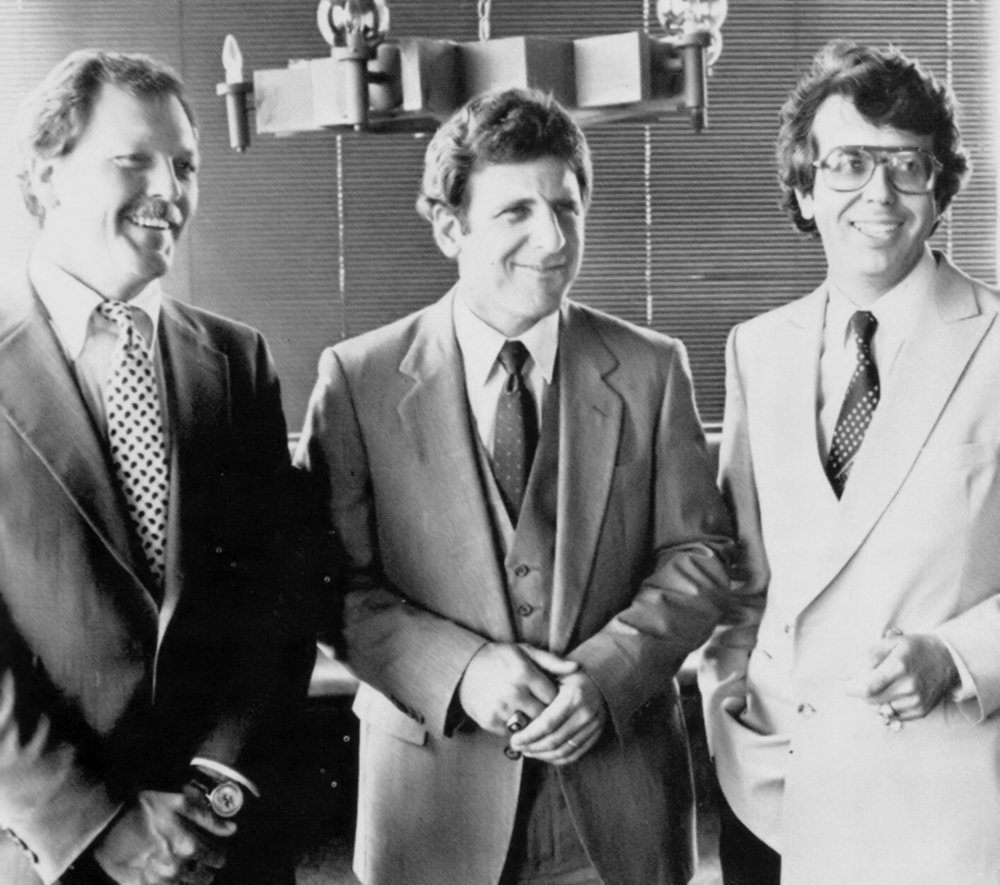 Coach Al Miller, Ted Moore and Francisco Marcos 1982.jpg