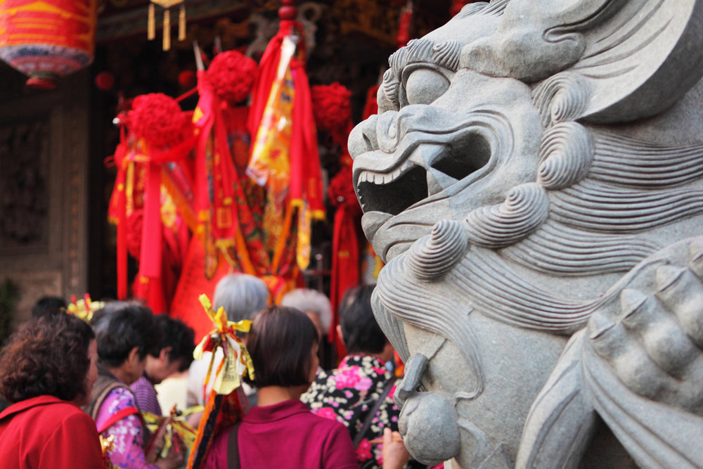 Temple Celebration, Taiwan