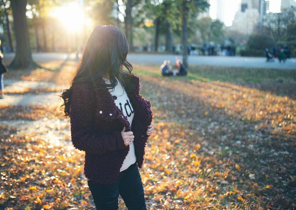 "Sweater ( Wildfox )   Jacket  ( IRO ""Caty""Moto Jacket, runs small- order up ) Shoes ( Chloe ""Susanna"" Boot ) Jeans ( BlankNYC ) Ring (David Yurman) Sunglasses ( Dior ) Earrings ( Kendra Scott Danielle Earrings )"