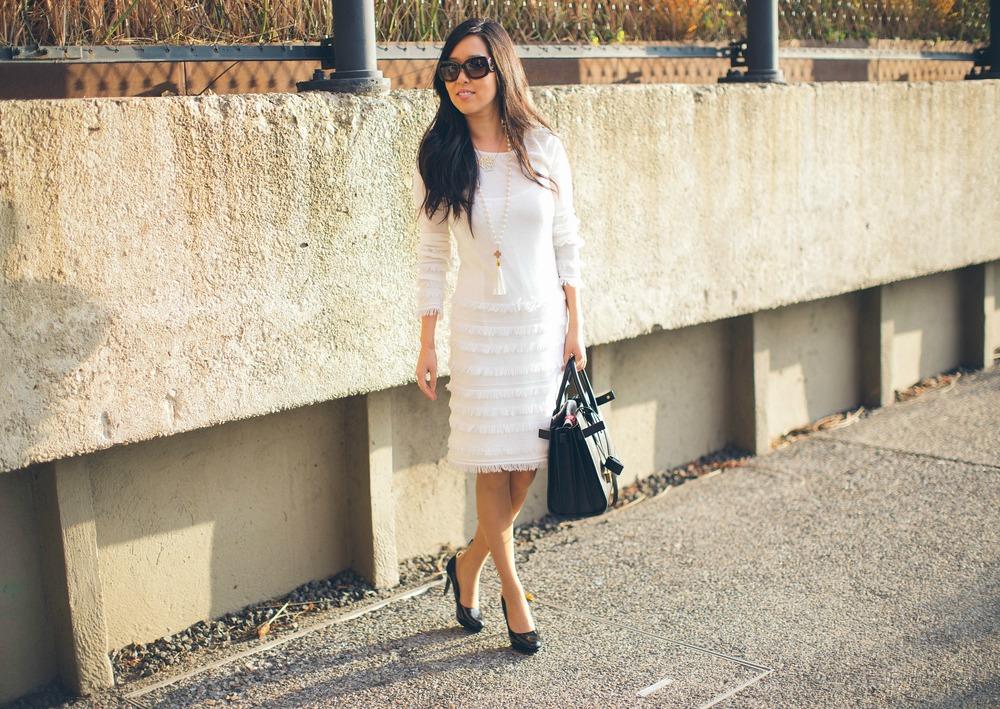 Trina Turk Sass Fringe Dress