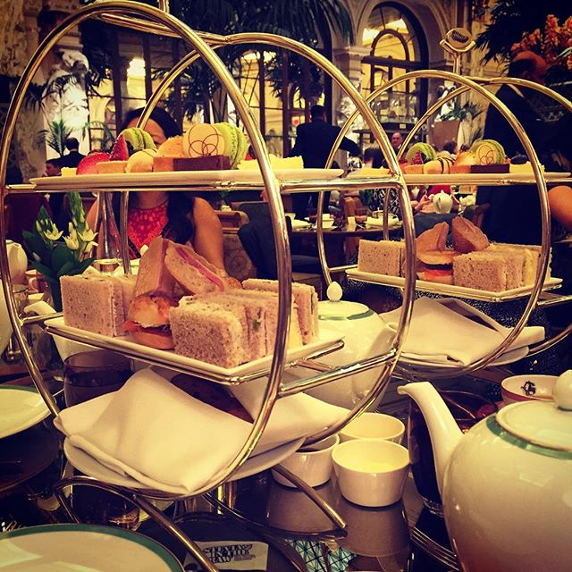 Perfect Saturday at high tea with my favorite ladies #teatime