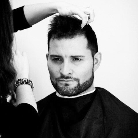 For our founder men's grooming isn't an idea. It's a lifestyle. 📷:@paperposeyphotography of Founder & Barber Stylist @ellemajors styling a clients hair and beard in 2009.