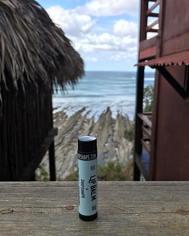 Surf's up!! Our lip balm heads to the beaches of Nicaragua! 📷: @hippyhermit