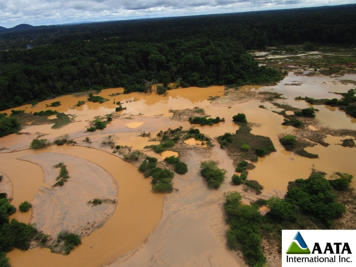 Hydrological and water quality impacts of small-scale, artisanal and illegal mining near KM 88, Bolivar State, Venezuela.