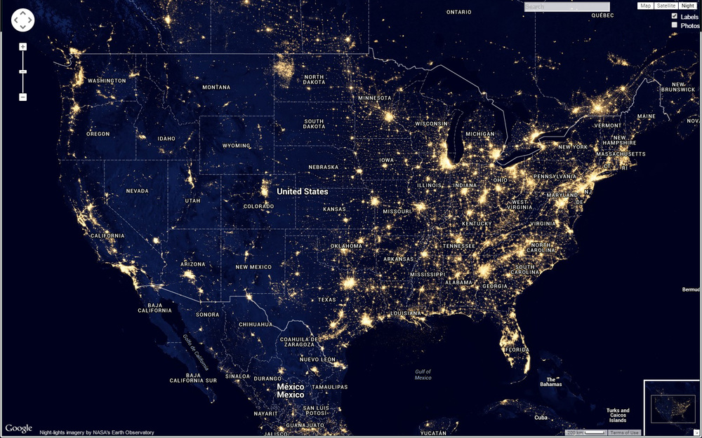 How To Find Dark Skies For Night Photography Night Photography - Us light pollution map