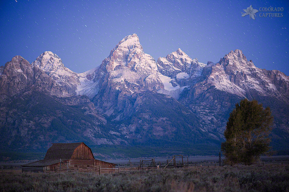 Grand Teton Twilight