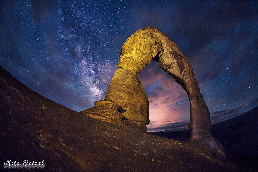 Glow of Delicate Arch