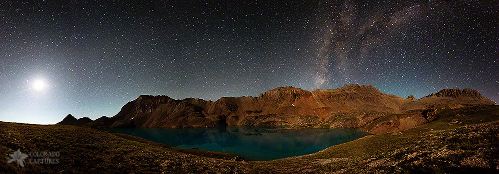 """Milky Way Dreams At Columbine Lake"" - Near Silverton, Colorado"