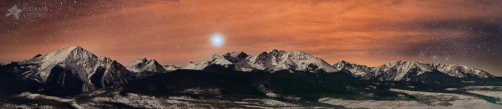 """Sirius Diffusion Over The Gore Range"" - Ute Pass, Colorado"