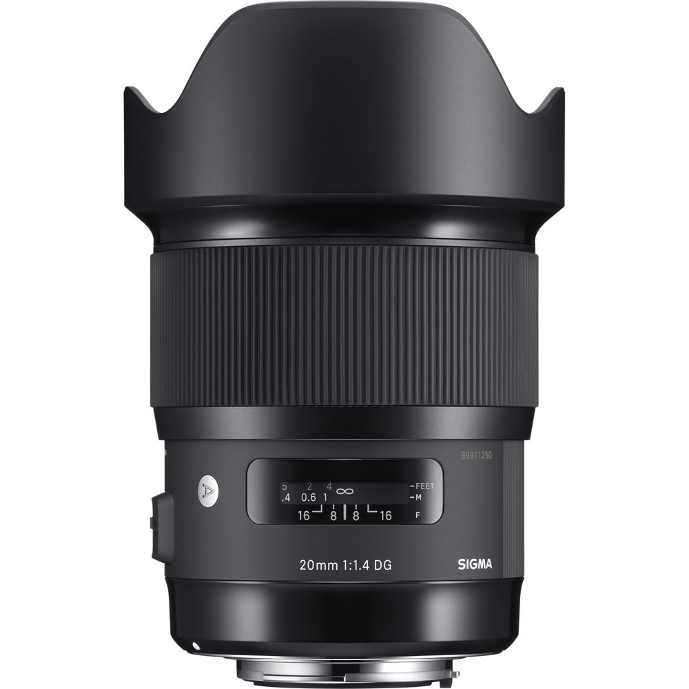 Top Recommendation: Sigma 20mm f/1.4 Art Lens
