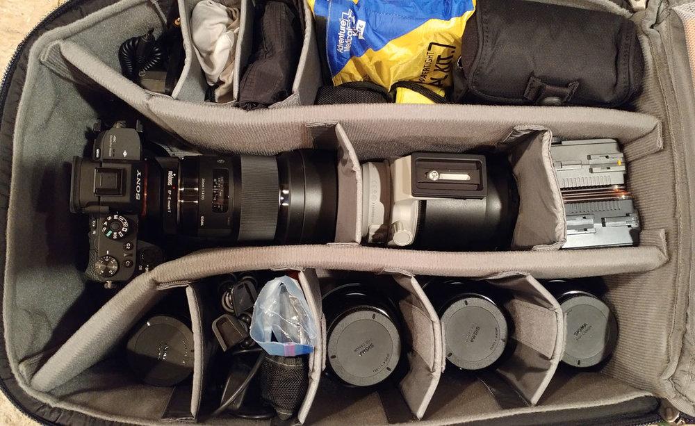 Mike's Camera Bag