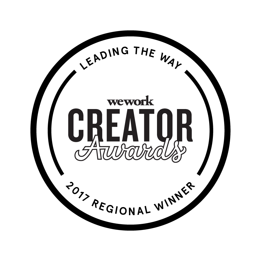 Shakespeare in Prison is a proud recipient of a 2017  WeWork Creator Award .
