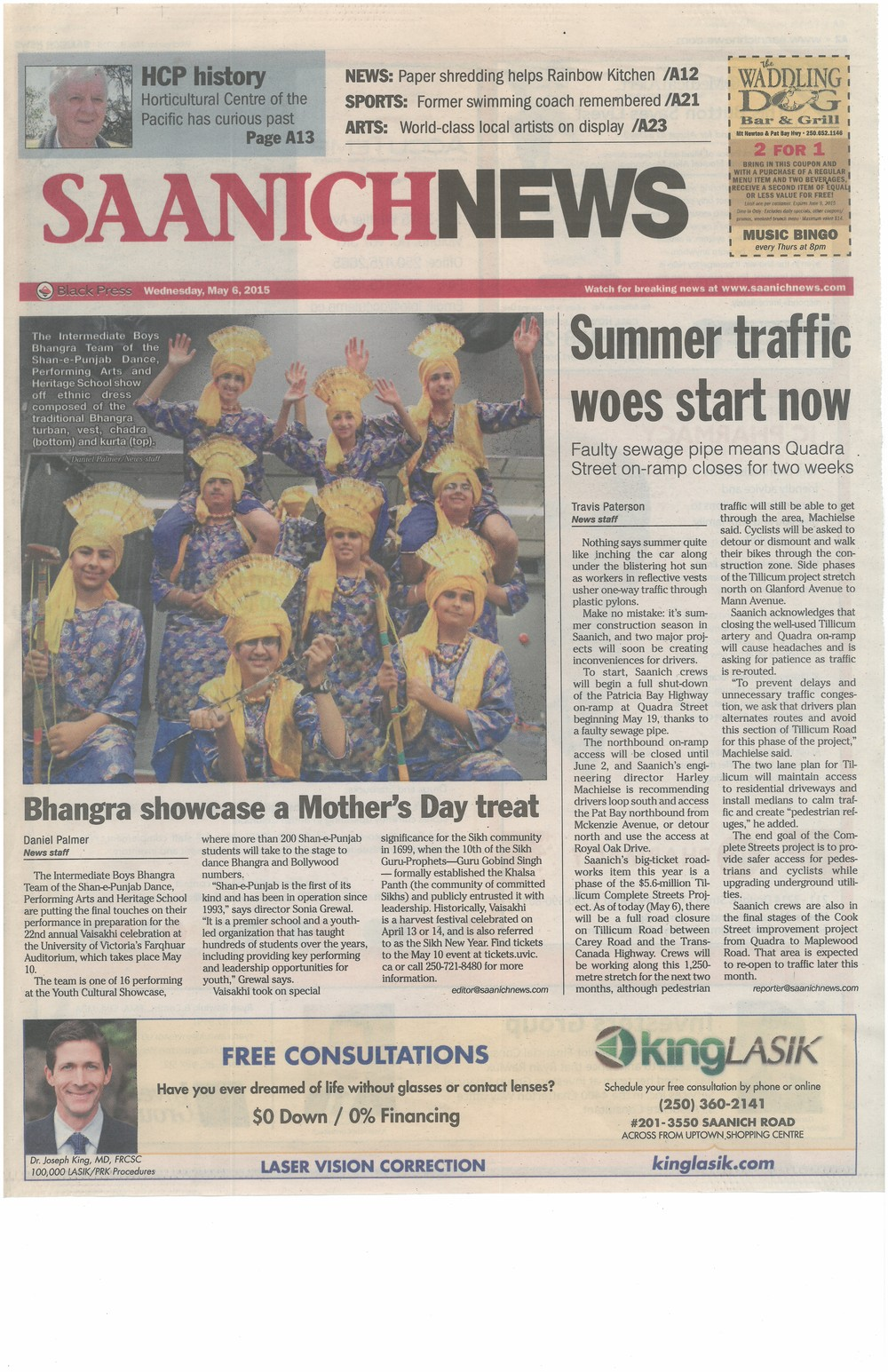 2015_Saanich News May 6 2015.jpg