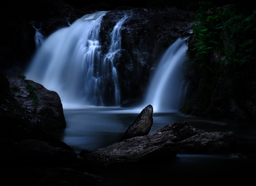 Crystal Cascades Cairns – Fujifilm X-T2 with XF18-55mmF2.8-4 – 39mm – F11 – 30sec – ISO200