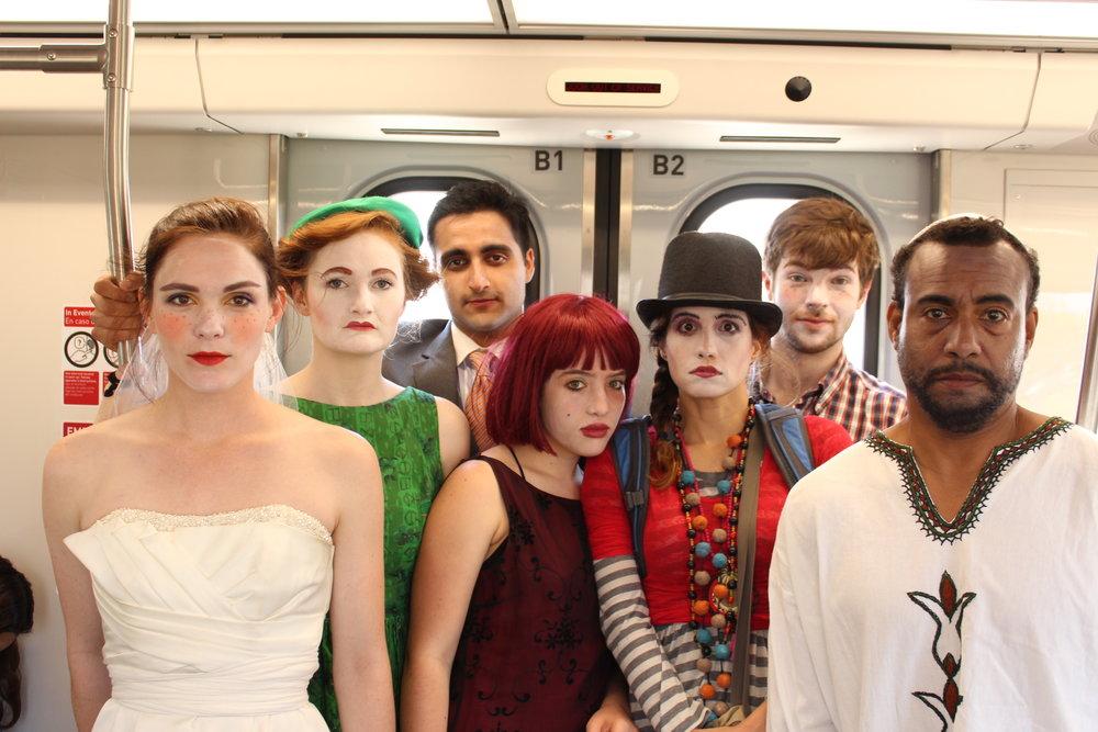 CC Ensemble on train THE ONE.JPG