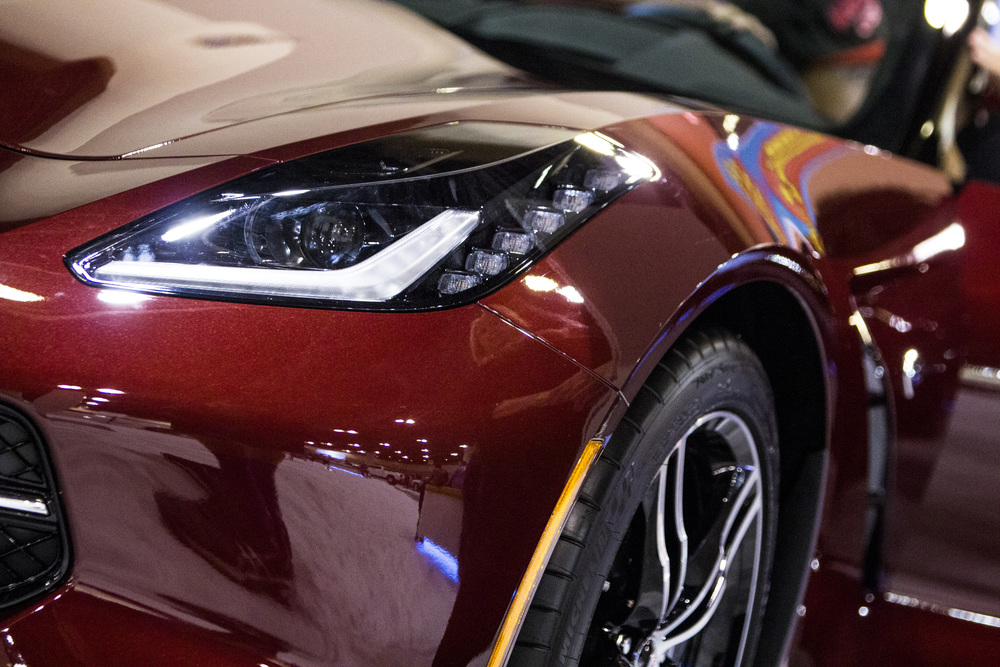 The Corvette Stingray at the Phoenix International Autoshow 2015