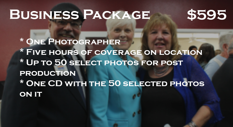 Pricing for business photography in Phoenix, AZ