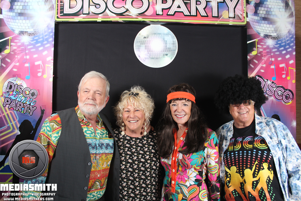 '70s Disco Night Photo Booth