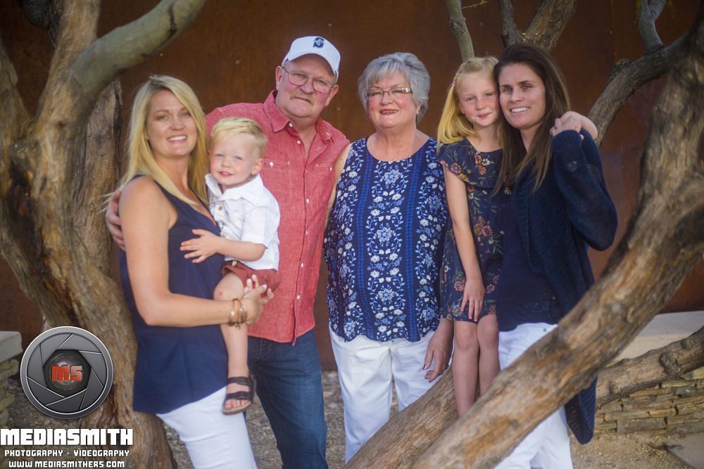Estrella_Star_Tower_Goodyear_AZ_Family_Portrait_Meece_Near_Tree