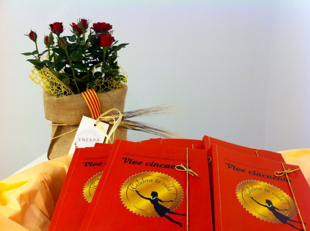 Regala la llibreta Vive 50 per #SantJordi