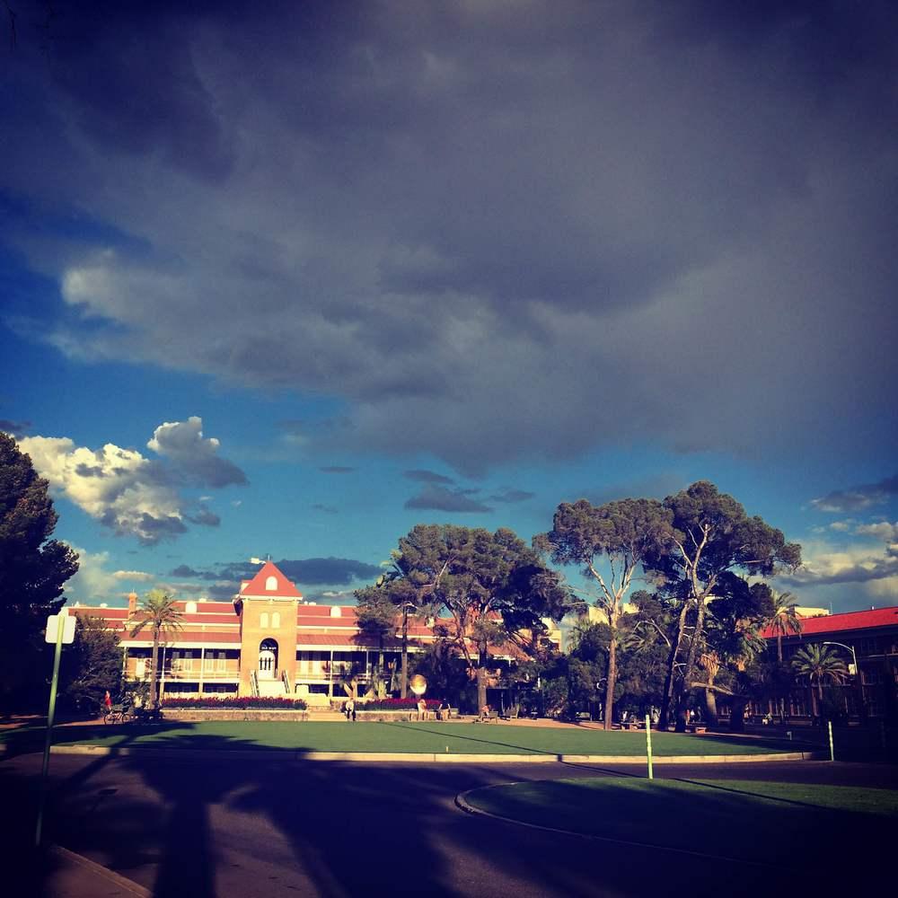 Old Main, University of Arizona, Tucson, AZ, Spring 2015
