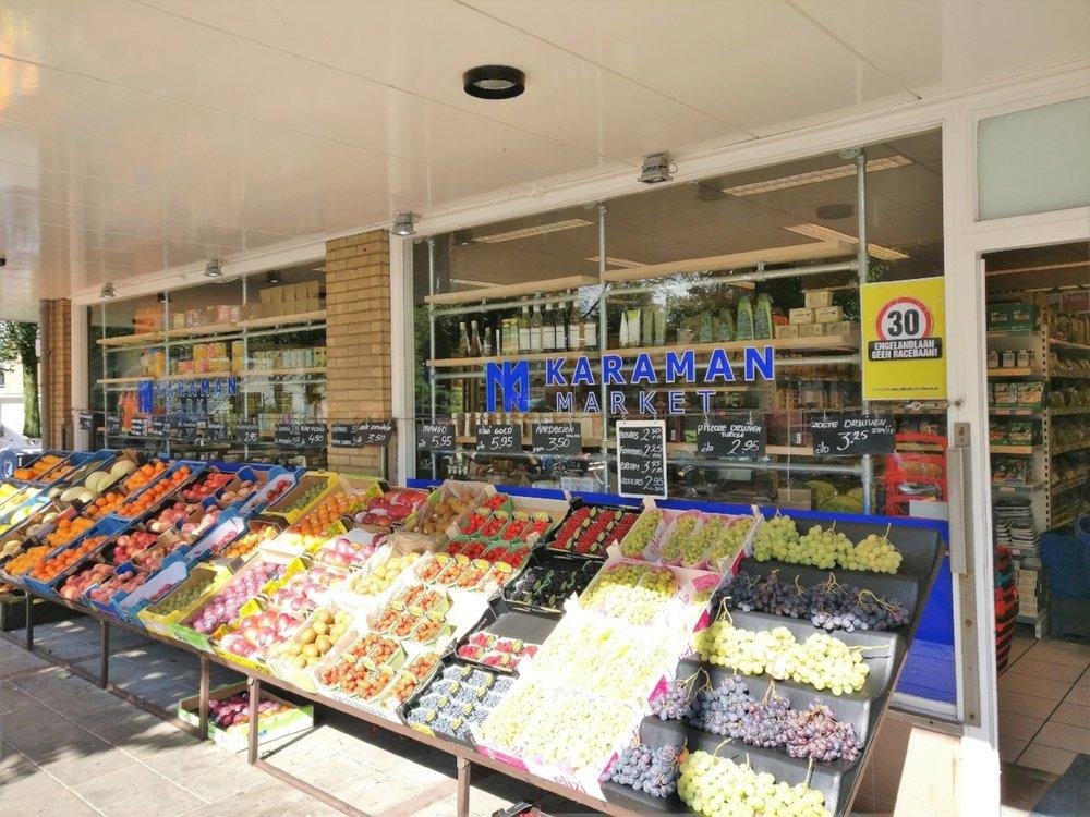 Perzisch Saffraan ijs en Faloodeh te koop bij Karaman in Haarlem.