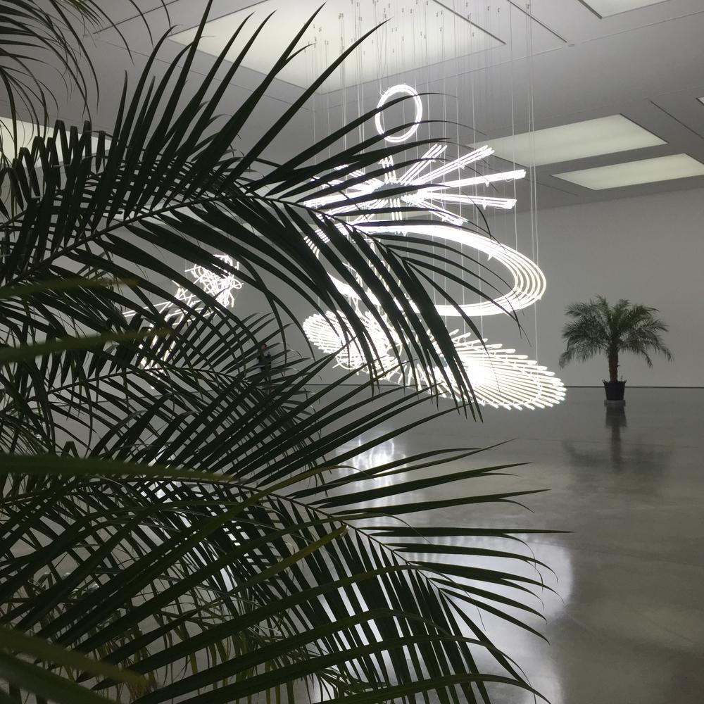 (Installation view) Cerith Wyn Evans, 2015