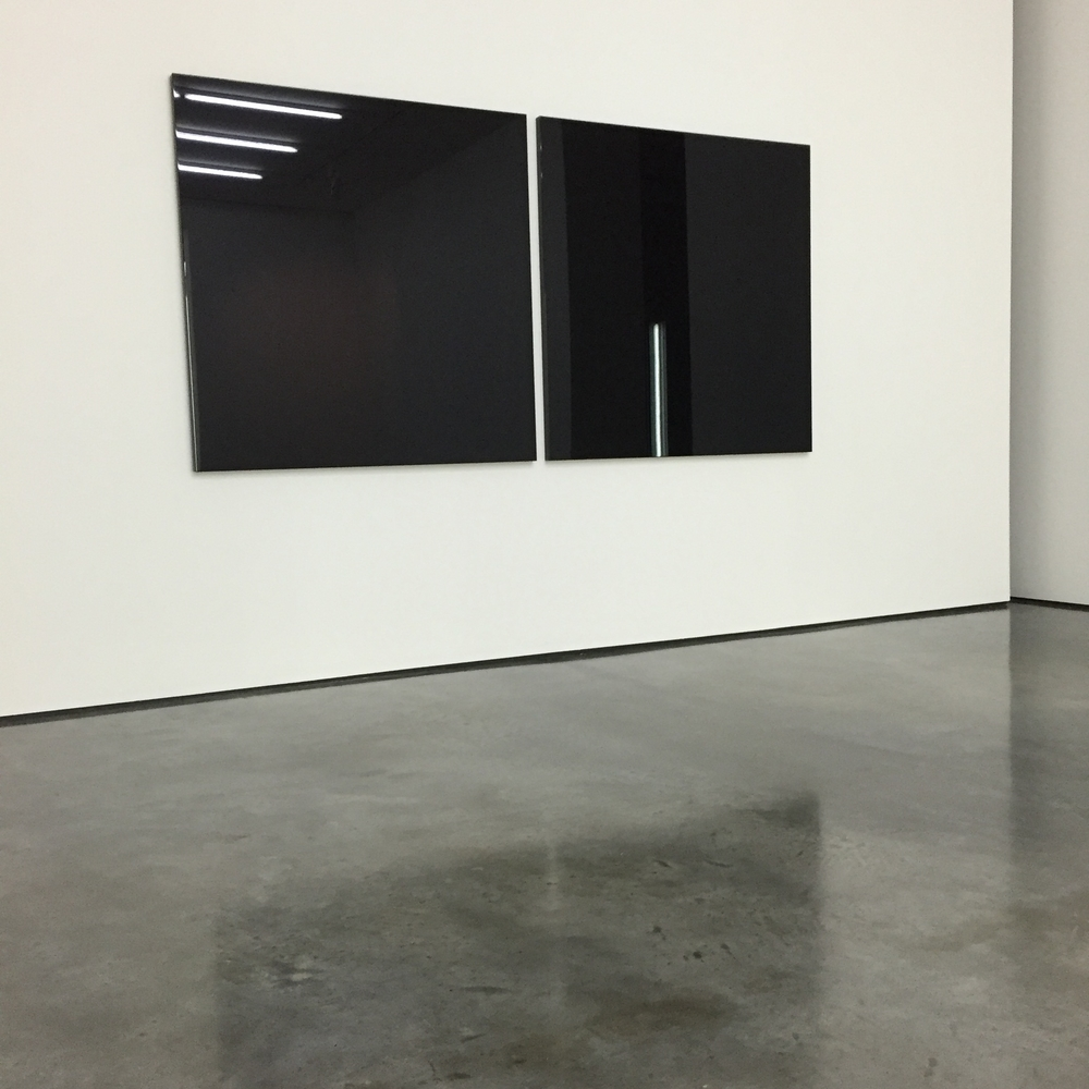 Black Painting (Installation view) Robert Irwin, 2015