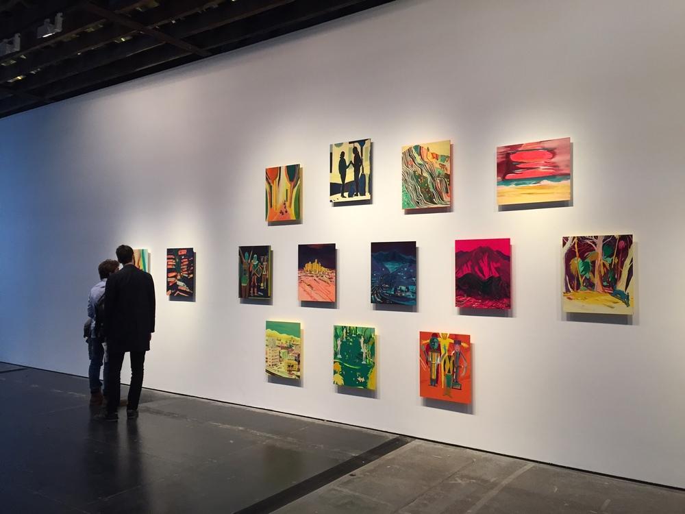 Installation view:Upper Gallery, Victoria Miro,16 Wharf Road, April 2016