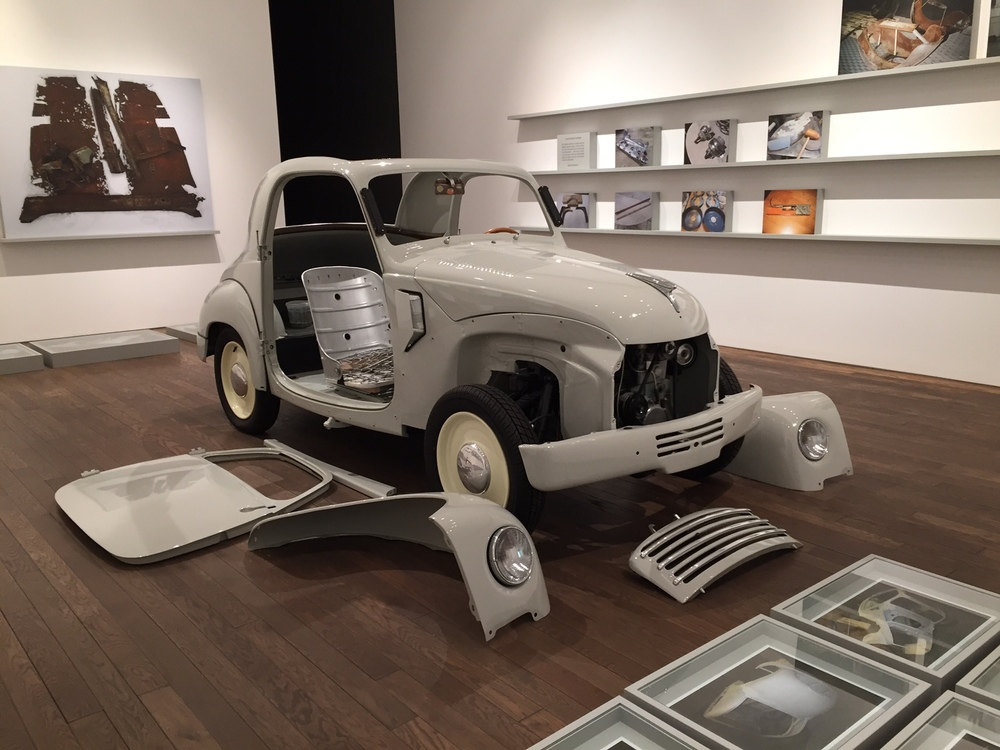 Unfinished Father, 2015 installation view - Erik Kessels
