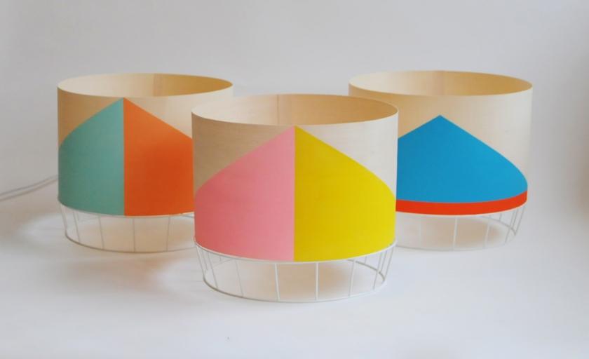 Lampes Dowood by I.Gilles & Y.Poncelet