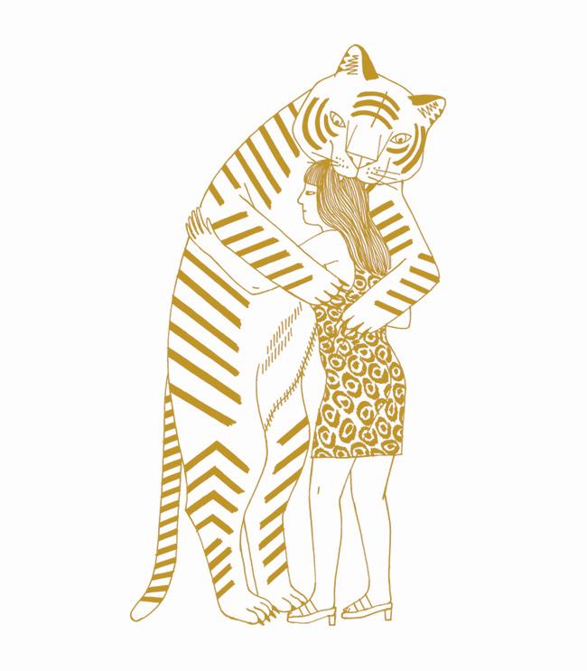 Dessin pour le livre Carnivores, livre autoédité, 2016