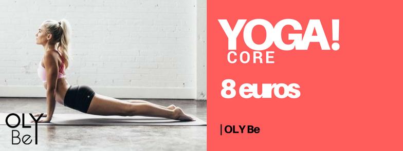 CORE YOGA Cours dynamique reprenant la base du Yoga Vinyasa mais en insistant sur le renforcement musculaire, les abdos fessiers et le gainage. Vous enchaînerez des mouvements de façon fluide et presque dansante. Les toxines sont éliminées et le corps redynamisé. La respiration synchronisée détend l'esprit et permet de se libérer des tensions.