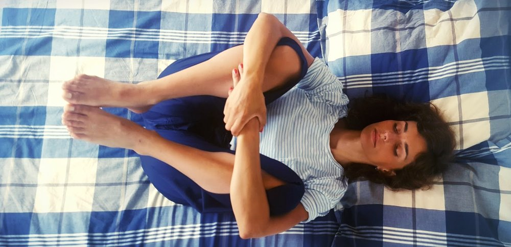 yoga_dodo_genou_poitrine_bien_dormir